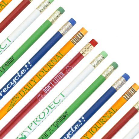 Recycled Newsprint Pencils-0