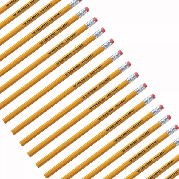 Budget Hex Pencils - No Set Up Fees-0