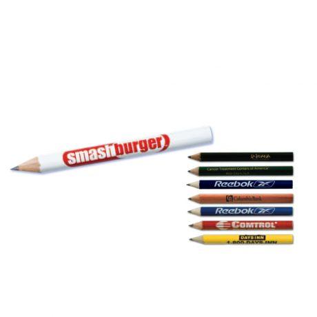 Premium Round Golf Pencils-0