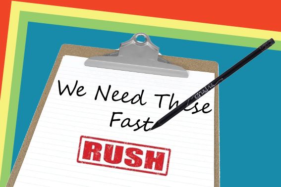 Rush Order Pencils & Pens